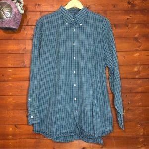 Tommy Hilfiger Button Up shirt neck 17.5